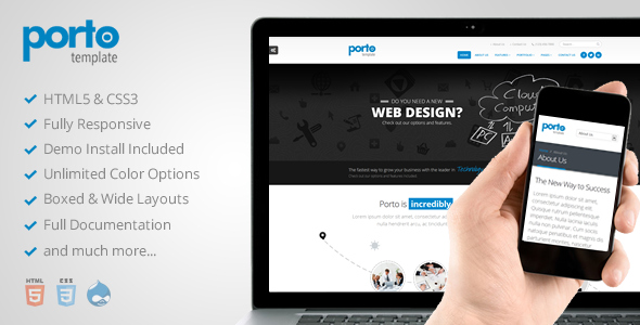drupal themes responsive business